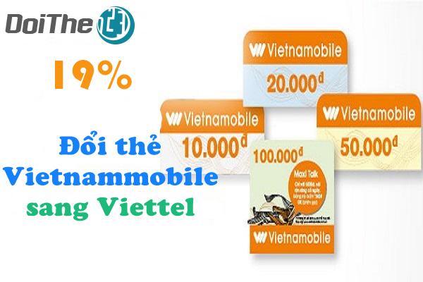 Đổi thẻ điện thoại Vietnammobile sang thẻ Viettel ở đâu?