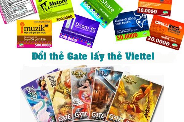 Đổi thẻ Gate lấy thẻ Viettel chỉ với những bước đơn giản nhất