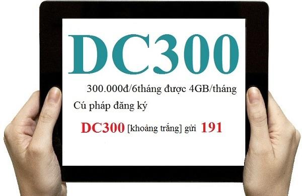 Hướng dẫn nhanh cách đăng ký gói cước DC300 Viettel cho Dcom
