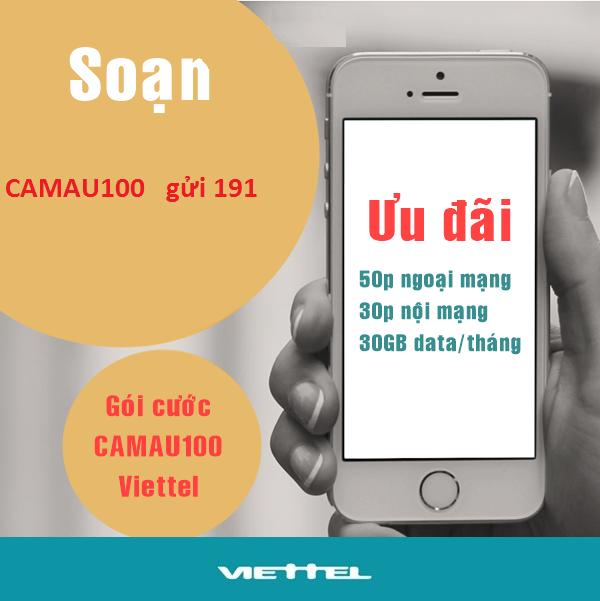 Hướng dẫn chi tiết cách đăng ký gói cước CAMAU100 Viettel