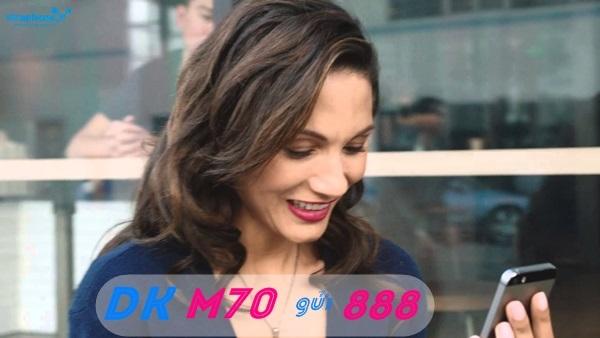 Hướng dẫn nhanh cách đăng kí gói cước M70 VinaPhone