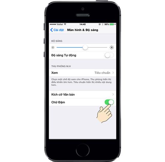 Hướng dẫn chi tiết cách thay đổi font chữ trên Iphone