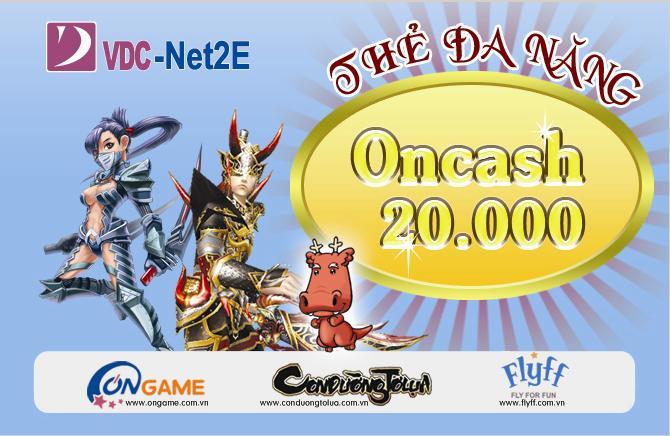 Đổi thẻ Oncash lấy thẻ Vcoin nhanh chóng hiệu quả!