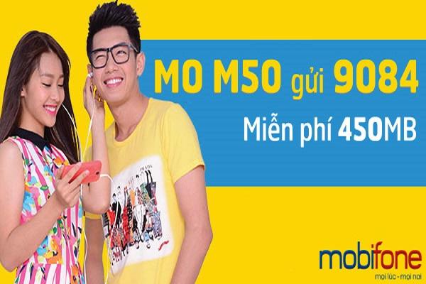 Đăng ký gói cước M50 Mobifone nhận ngay data truy cập internet hấp dẫn