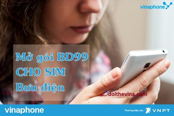 Học cánh mở gói BD99 Vinaphone bằng thẻ nạp
