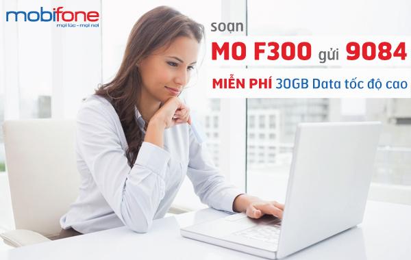 Đăng ký gói cước 3G F300 Mobifone nhanh với vài thao tác đơn giản