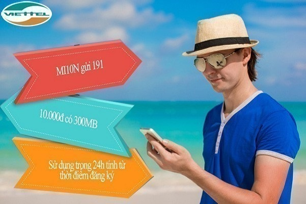 Cách đăng ký gói 3G Mi10N Viettel nhận ưu đãi hấp dẫn