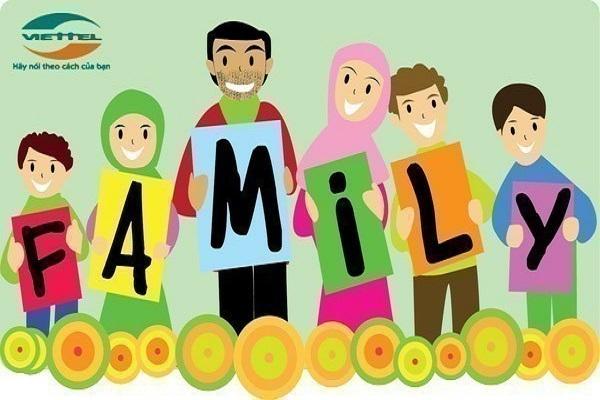 Thông tin chi tiêt về gói cước family Viettel và cách đăng ký