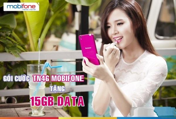 Hướng dẫn chi tiết cách đăng kí gói cước TN4G  Mobifone