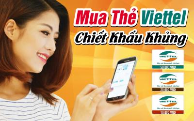 Hướng dẫn nạp tiền bằng thẻ điện thoại Viettel vào Bankplus nhanh nhất