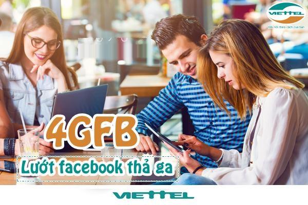 Hướng dẫn chi tiết cách đăng kí gói cước 4G Facebook Viettel