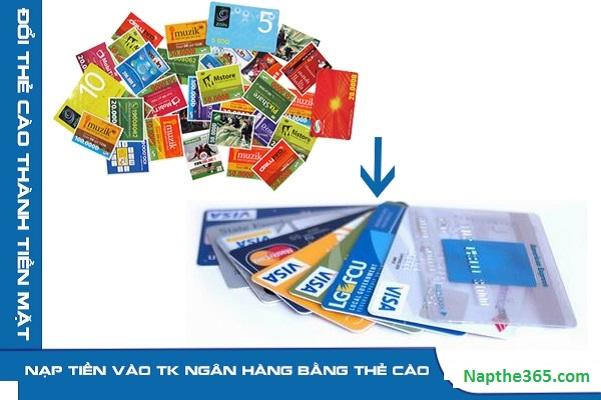 Cách nạp tiền từ thẻ cào vào tài khoản ngân hàng nhanh chóng, dễ dàng