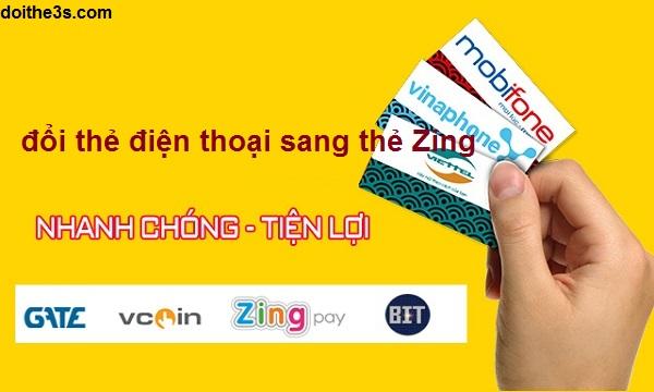 Hướng dẫn đổi thẻ điện thoại sang thẻ Zing nhanh chóng nhất