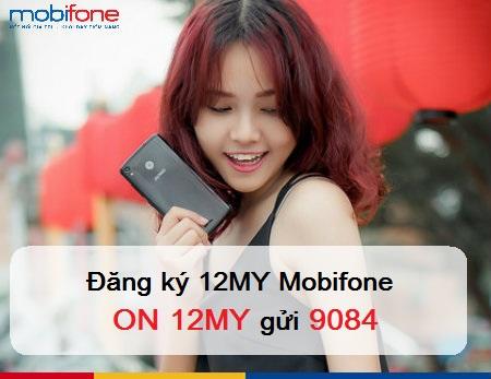 Hướng dẫn chi tiết cách đăng kí gói cước 12MY mobifone
