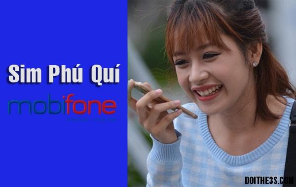 Tìm hiểu về sim phú quý @ Mobifone