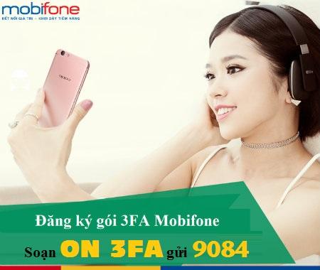 Hướng dẫn nhanh cách đăng kí gói 3FA Mobifone ưu đãi