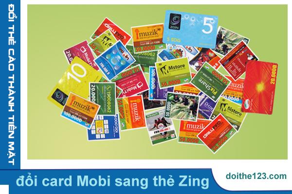 Đổi card Mobi sang thẻ Zing tiện lợi nhất