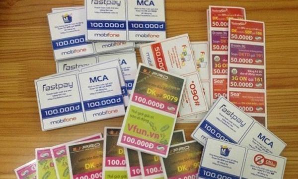 Số serial thẻ cào Mobifone được dùng để làm gì?