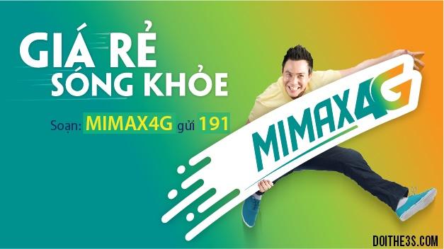 Đăng ký gói Mimax 4G Viettel không giới hạn lưu lượng chỉ với 90.000đ