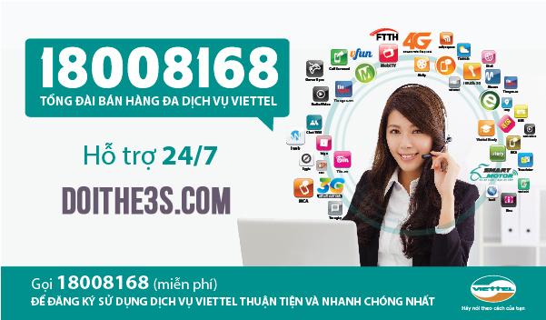 Số tổng đài chăm sóc khách hàng của Viettel