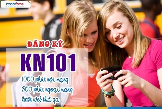 Hướng dẫn nhanh cách đăng kí gói KN101 Mobifone