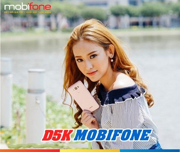 Hướng dẫn nhanh cách đăng kí gói cước D5K Mobifone