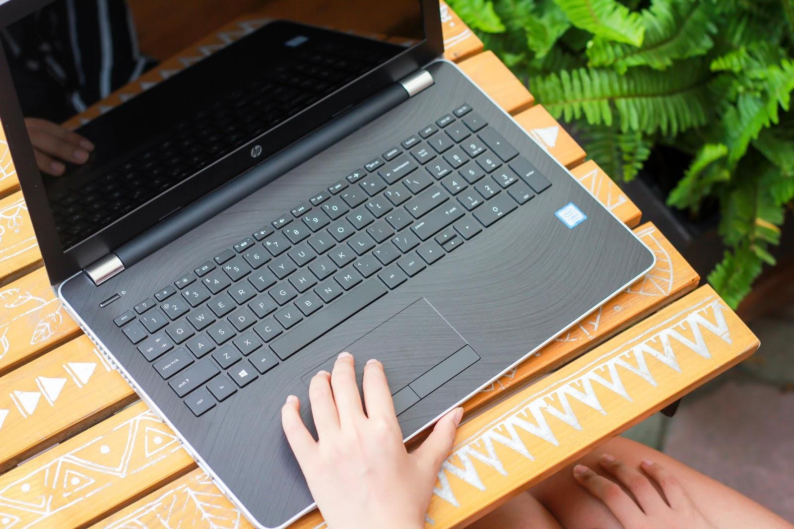 Laptop HP 15 New Design 2017 ấn tượng đặc biệt dành cho sinh viên IT