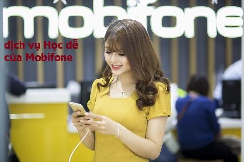 Hướng dẫn cách đăng kí nhanh dịch vụ Học dễ của Mobifone