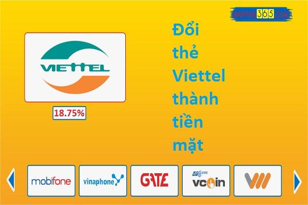 Hướng dẫn cách đổi thẻ Viettel thành tiền mặt đơn giản nhất