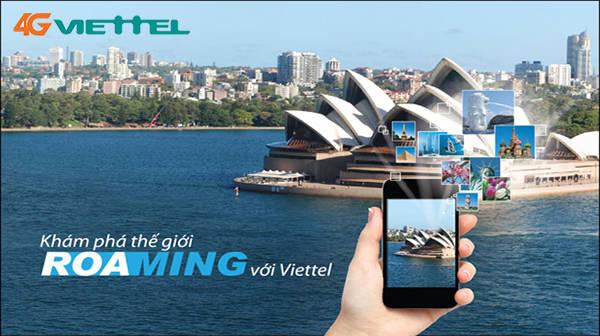 Hướng dẫn sử dụng dịch vụ chuyển vùng quốc tế 4G Viettel ưu đãi