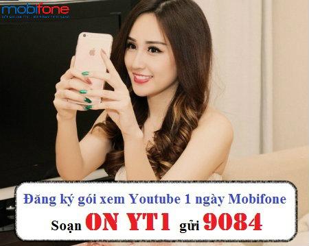 Hướng dẫn chi tiết cách đăng kí gói YT1 mobifone xem youtube tẹt ga