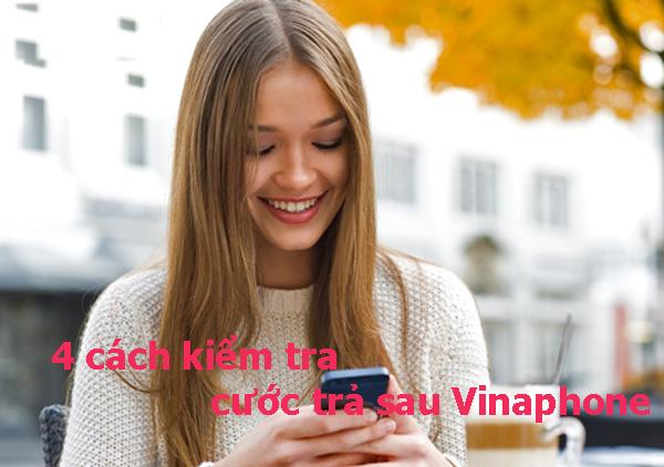 Check in 4 cách đơn giản kiểm tra cước trả sau Vinaphone