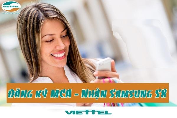 Hướng dẫn cách đăng ký dịch vụ  MCA Viettel nhận Samsung Galaxy S8