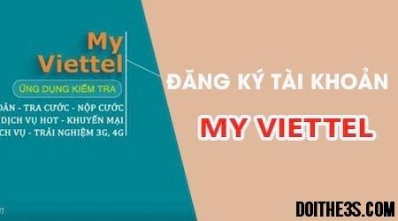 Hướng dẫn đăng ký tài khoản My Viettel trong một nốt nhạc