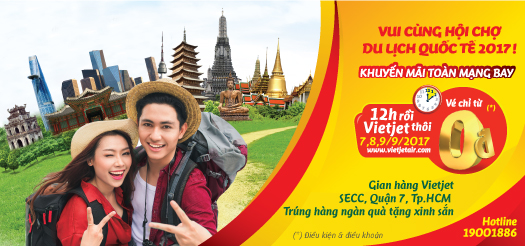 Giá vé Vietjet Air khuyến mãi cuối năm bạn biết chưa?