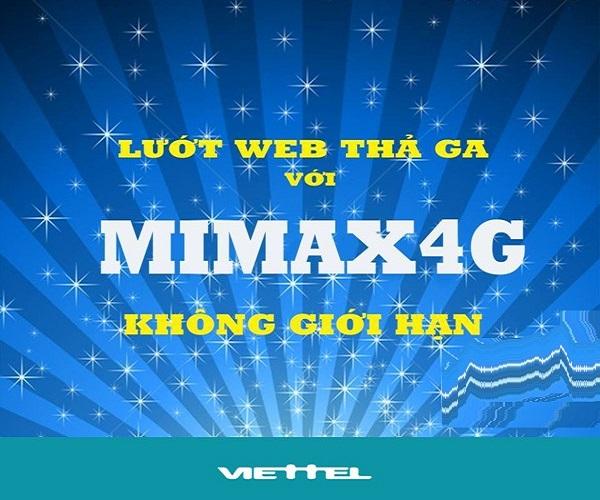 Hướng dẫn cách đăng ký gói cước Mimax4G Viettel dùng 4G trọn gói