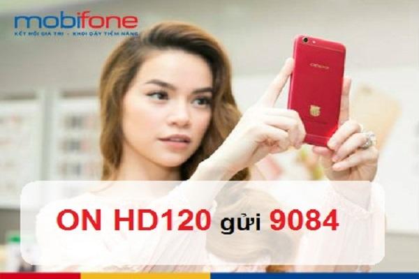 Đăng ký gói cước HD120 Mobifone nhận ngay 6GB truy cập internet 4G tốc độ cao