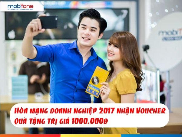 Tặng ngay voucher 1 triệu cho khách hàng doanh nghiệp mobifone