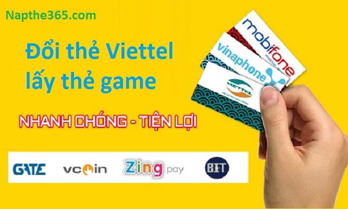 Cách đổi thẻ Viettel lấy thẻ game nhanh chóng, tiện lợi nhất