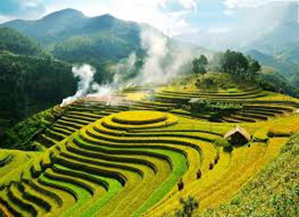 Đặt vé máy bay đi Hà Nội giá rẻ khám phá thiên đường giữa đại ngàn Pù Luông