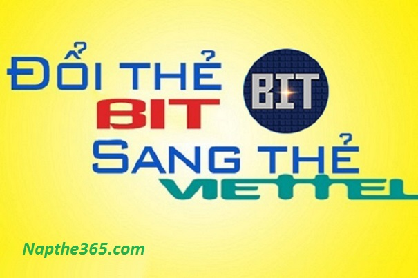 Hướng dẫn đổi thẻ Bit sang thẻ Viettel đơn giản