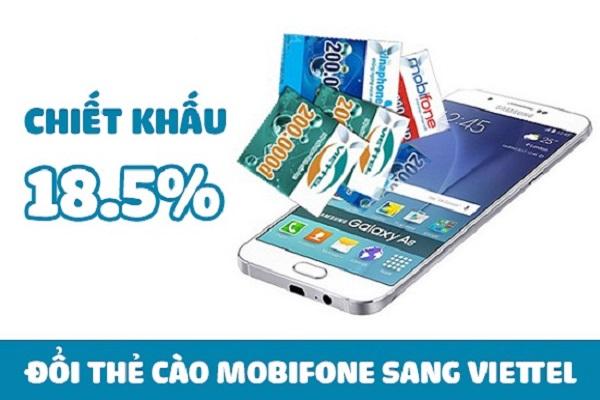 Đổi thẻ Mobifone sang thẻ Viettel cực dễ dàng