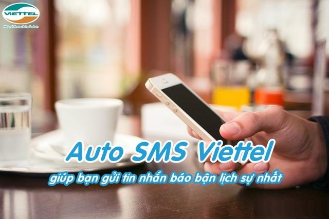 Hướng dẫn chi tiết cách đăng kí dịch vụ Auto SMS Viettel