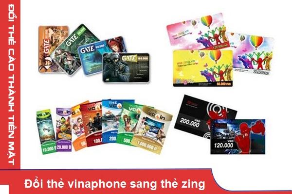Những bước đơn giản giúp bạn đổi thẻ vinaphone sang thẻ zing