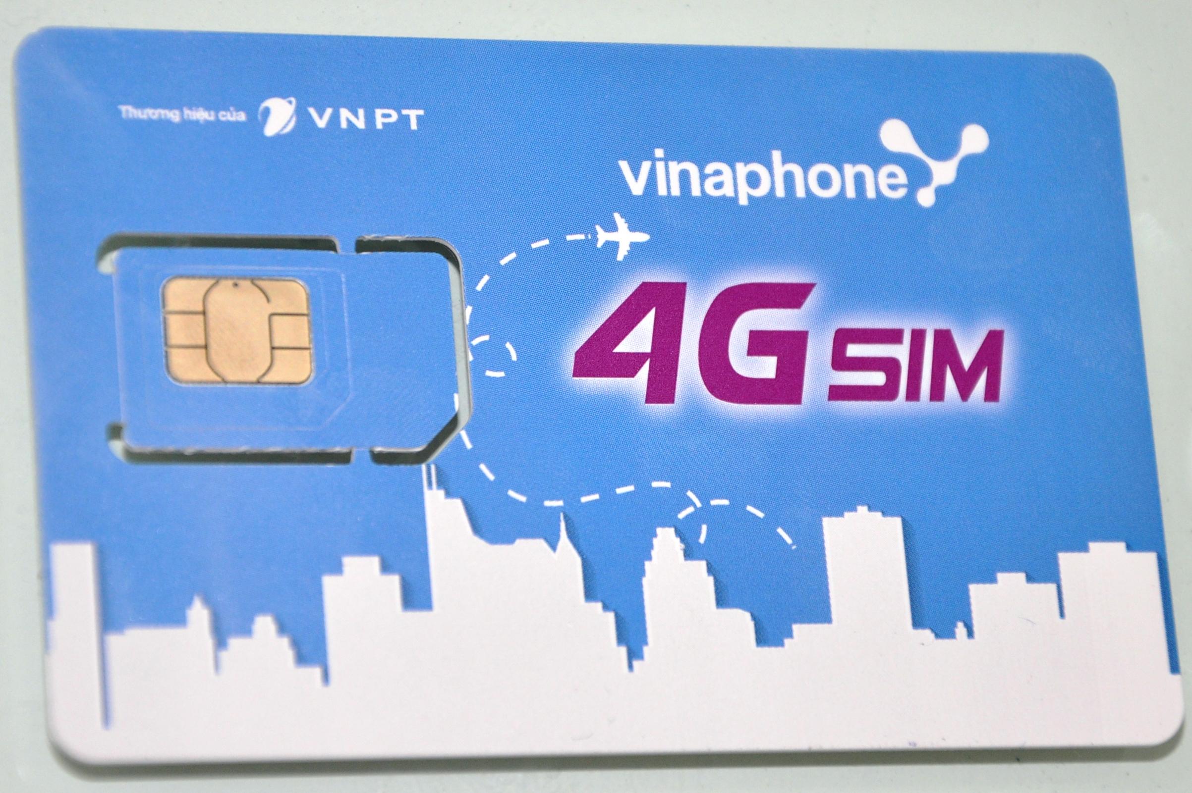Cách kiểm tra lưu lượng 4G Vinaphone cho sim của bạn