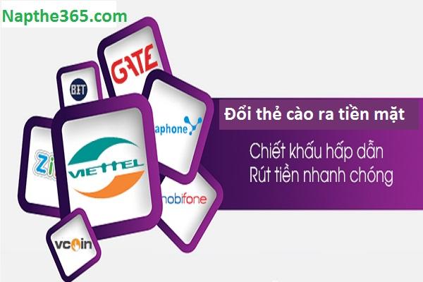 Lợi ích khi sử dụng dịch vụ đổi thẻ cào ra tiền mặt tại Napthe365.com