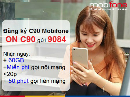 Tất tần tật liên quan gói cước 4G Mobifone C90