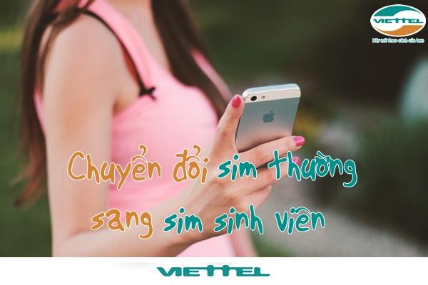Hướng dẫn chi tiết các sử dụng sim sinh viên viettel