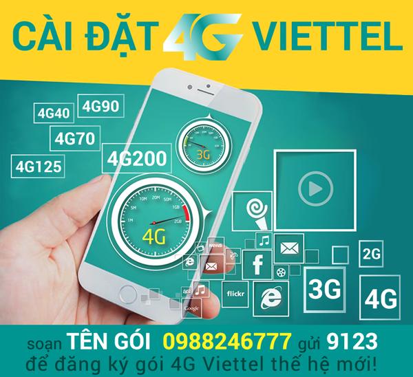 2 cách cấu hình cài đặt 4G Viettel cực đơn giản