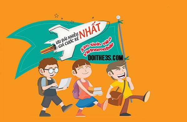 Ưu đãi khủng dành cho sim Sinh viên Vietnamobile 2017